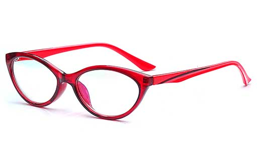 Red cateye spectacles frames