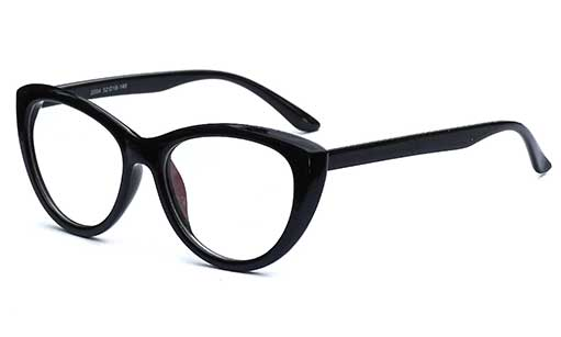 Fashionable Black cateye spectacles frames