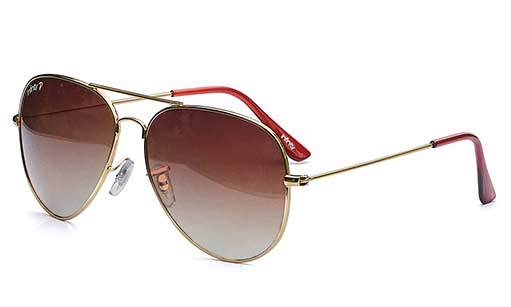 Golden with Brown Polarized online