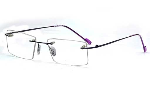Super Thin Rimless eyeglasses