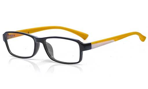 Fashionable Yellow with Black fullframe
