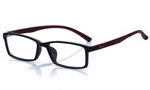 Black with Brown eyeglass