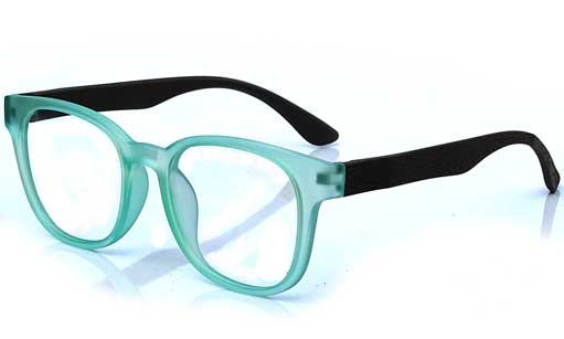 Sea green Square eyeglass