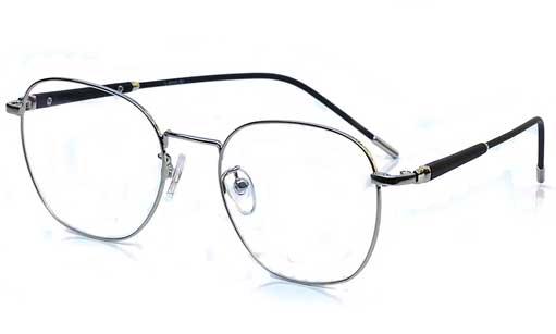 Silver Designer eyeglasses online