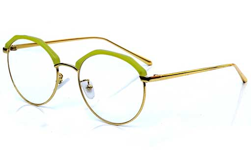 Gilden with yellow Designer eyeglasses online