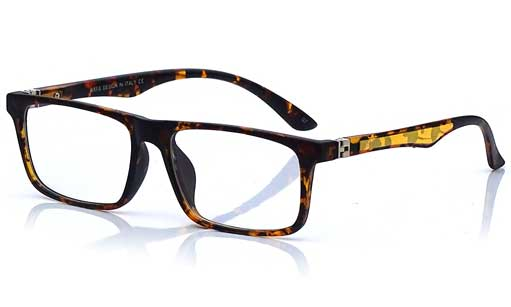 Animal Printed rectangular eyeglass