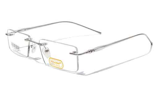 rimless spectacle frames